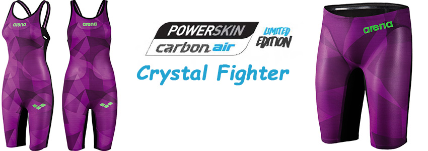 Edição Limitada Ãrena Powerskin Carbon Air - Crystal Fighter