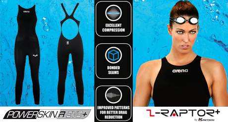 Arena Powerskin R-Evo Plus Open Water Swimming Ladies Suit