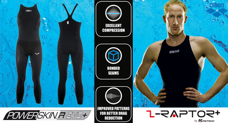 Arena Powerskin R-Evo Plus Open Water Mens Suit