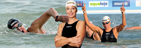 Angela Maurer - Open Water Swimmer Champion