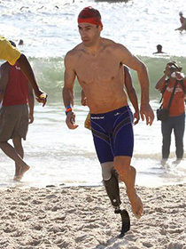 Pedro Brasilio  - Rei do Mar Beach Aquathlon 2010