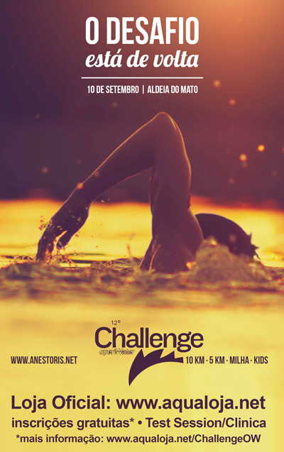 Cartaz 12º Challenge Open Water 10Km