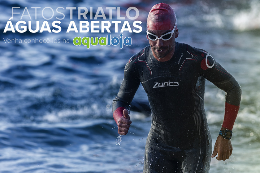 Rui Dolores - Triatleta do Team Aqualoja com o wetsuit Zone3 Aspire