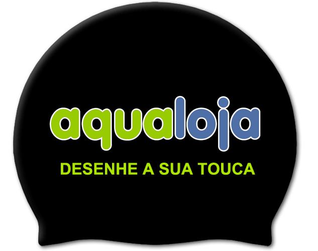 Toucas Natação Personalizadas - aqualoja  equipamento natação c4fa048ea08