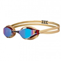 Mirrored Swimming Goggles - Arena Python Revo Gold