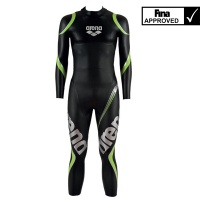 arena man triwetsuit carbon - triathlon and FINA approved open water swimming neoprene suit