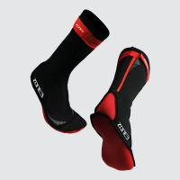 neo-swim-sock-red