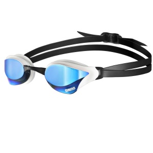 arena Cobra Core Mirrored Swim Goggles - Blue White