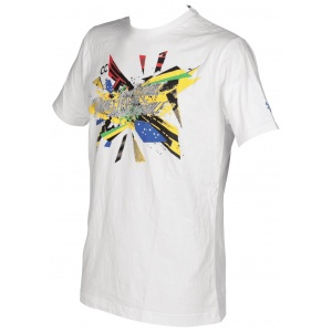 T-shirt Arena Chad Le Clos Rio 2016 Olympics Collection - branco