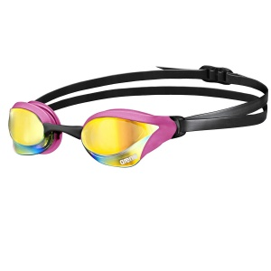 Cobra Core Mirror - arena Swimming Goggles-pink revo / pink / black