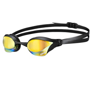 Cobra Core Mirror - yellow revo / black - competition Swim Goggles