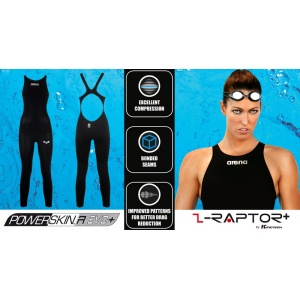 Ladies Powerskin R-Evo+ Open Water